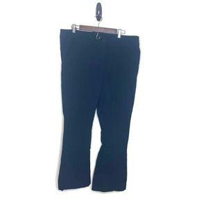 Lane Bryant women's black dress pants slacks 18